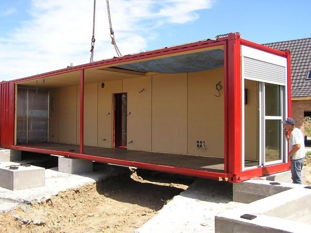 Дом из блок контейнеров своими руками 48
